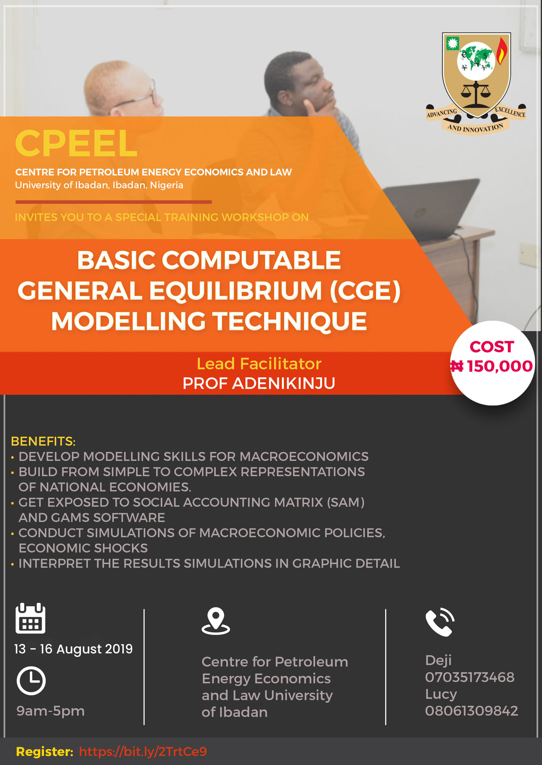 Basic CGE 2019 Workshop